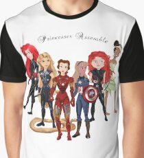 Princesses Assemble  Graphic T-Shirt