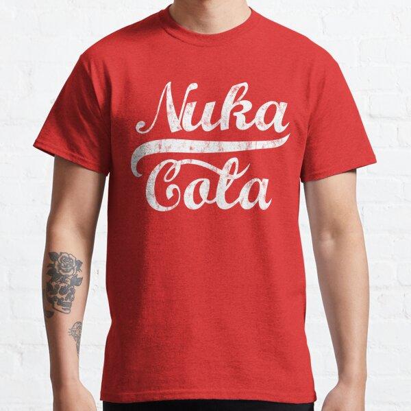 Fallout Nuka Cola Distressed Logo Classic T-Shirt
