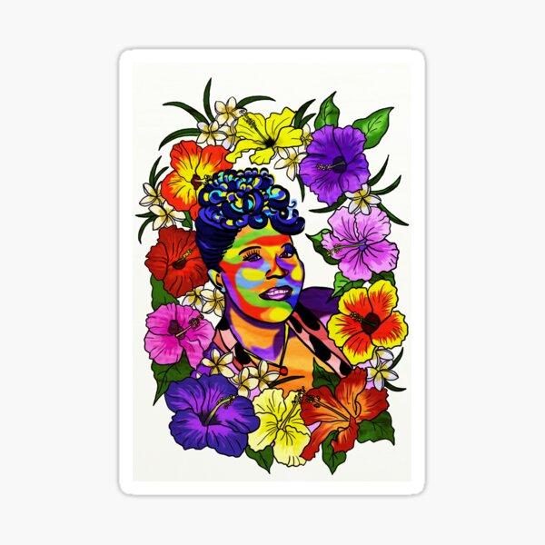 Ella Fitzgerald Jazz Legend Sticker