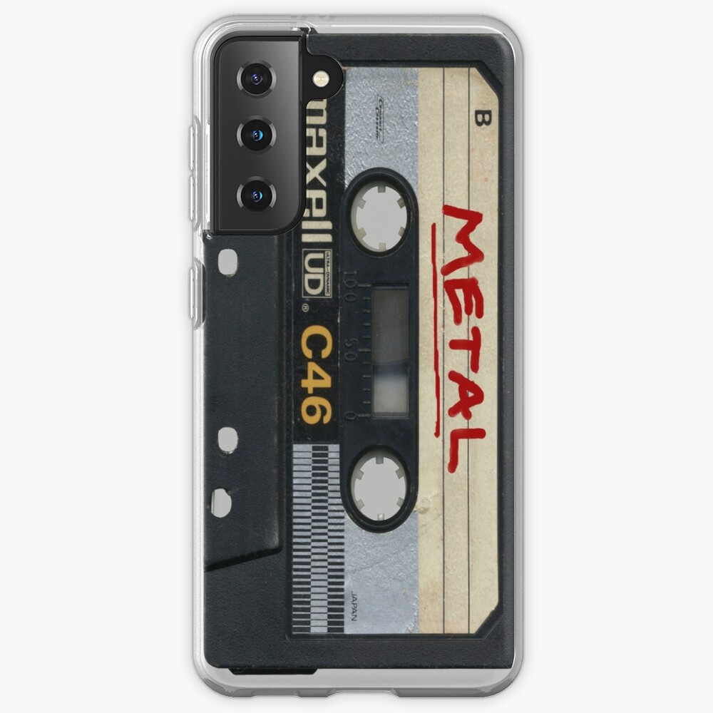 Metal Mix Tape Case & Skin for Samsung Galaxy