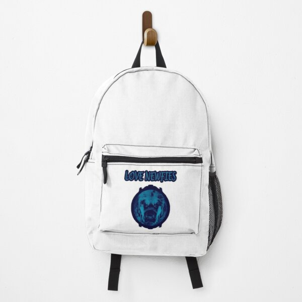 Love Newfies blue Backpack