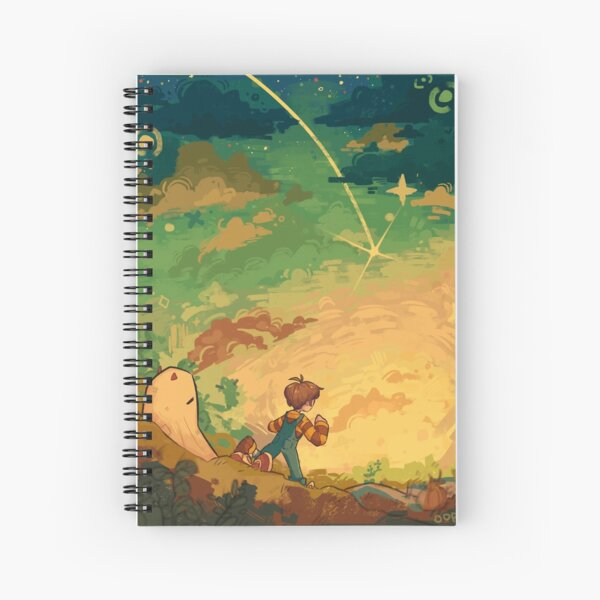Tommy and Tubbo Field  Spiral Notebook