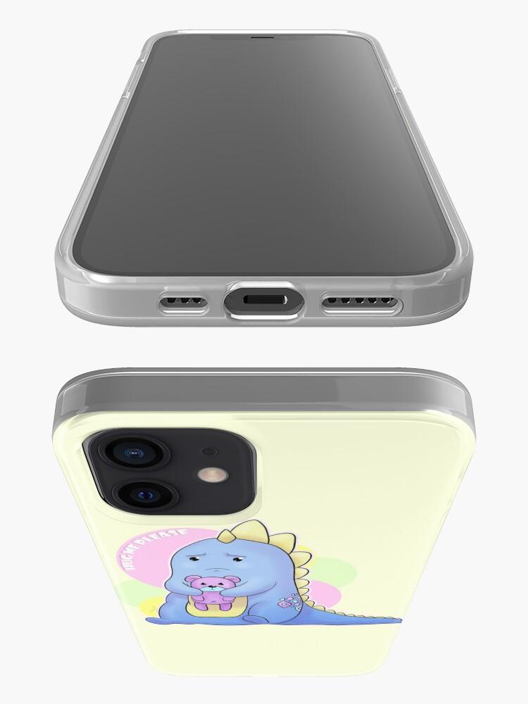 Alternate view of Sad Dino Series - Hug me Please iPhone Case & Cover