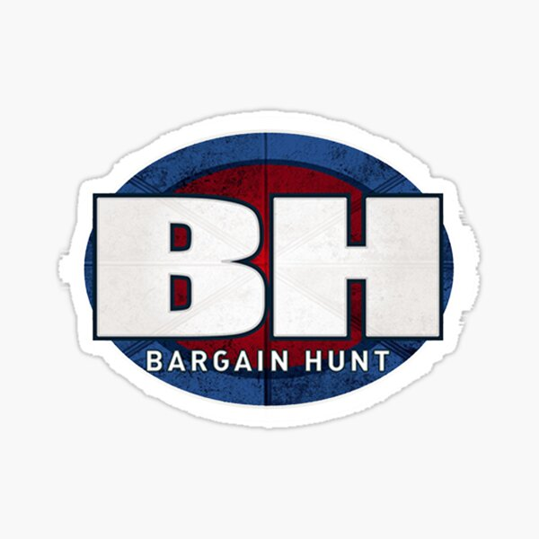 BBC Bargain Hunt Sticker