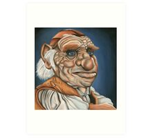 Hoggle - Oil Painting Art Print