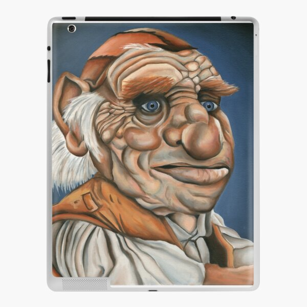 Hoggle - Oil Painting iPad Skin