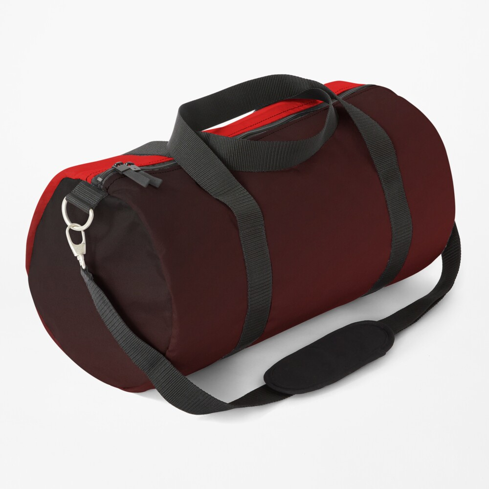 Red Ombre Duffle Bag