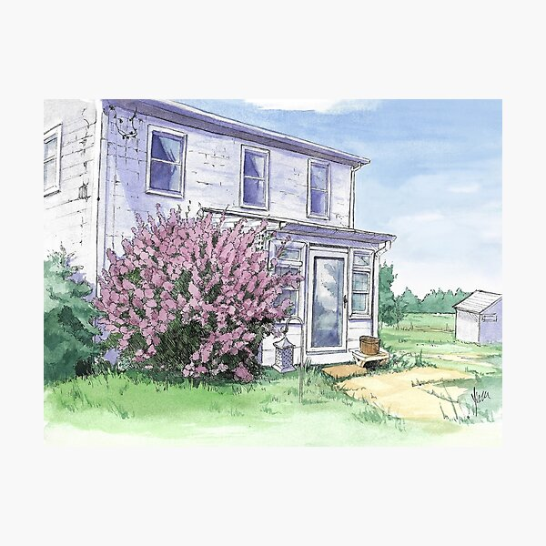 Farmhouse Photographic Print
