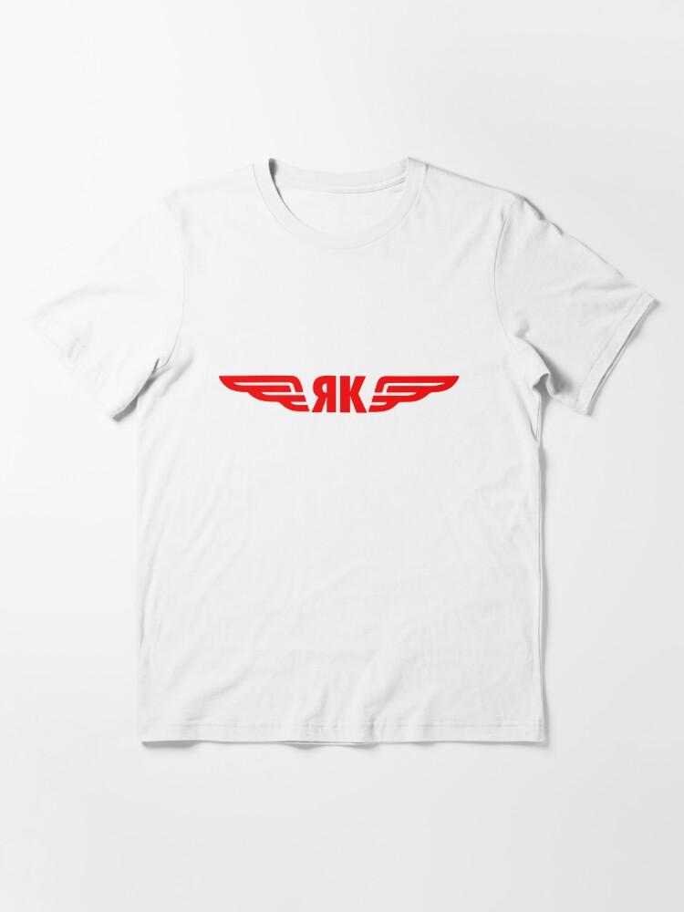 Alternate view of Model 103 - Yakolev Essential T-Shirt