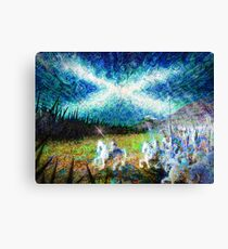 story of the saltire  Canvas Print