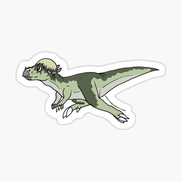 Pachycephalosaurus Sticker