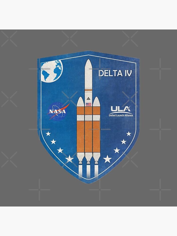 Delta IV Rocket Badge by BGALAXY