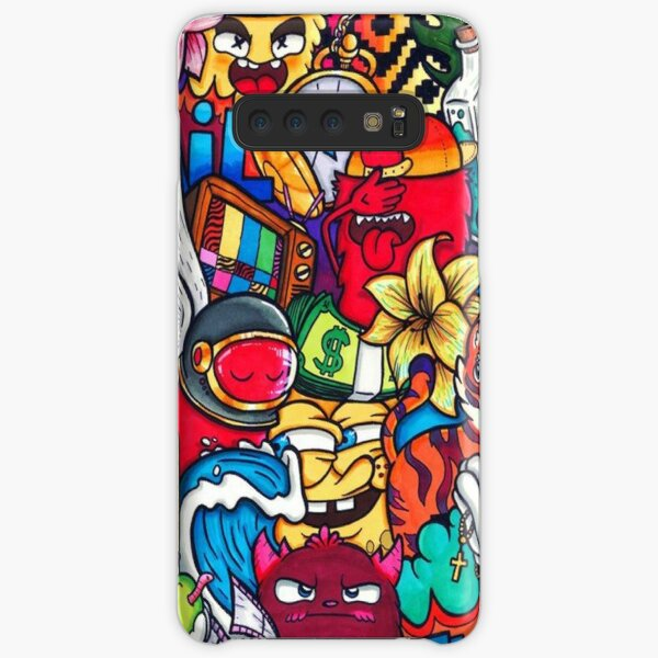 Zhc Crazy Artwork Samsung Galaxy Snap Case