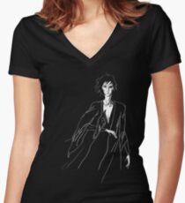 Sandman Women's Fitted V-Neck T-Shirt