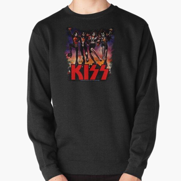 Kiss destroyer fan art. Pullover Sweatshirt