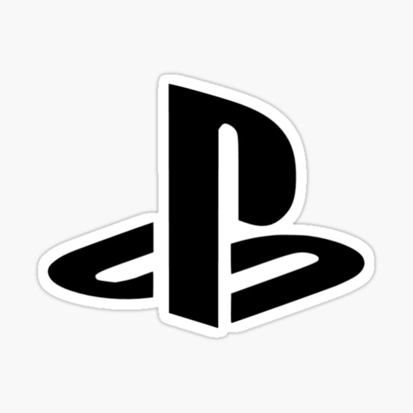 Logotipo original de Playstation Pegatina