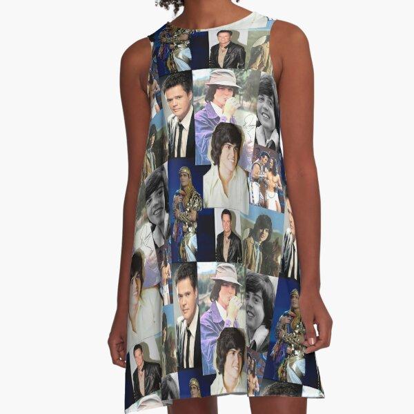 Donny Osmond Collage A-Line Dress
