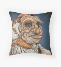 Hoggle - Oil Painting Throw Pillow