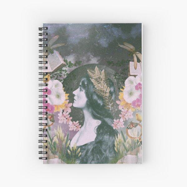 Virgo Harvest Maiden Spiral Notebook