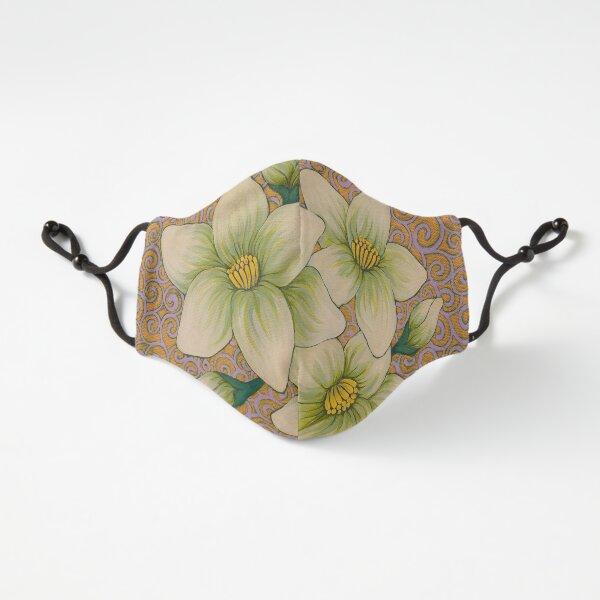 Jasmine Flower Mandala Ajustada - 3 capas