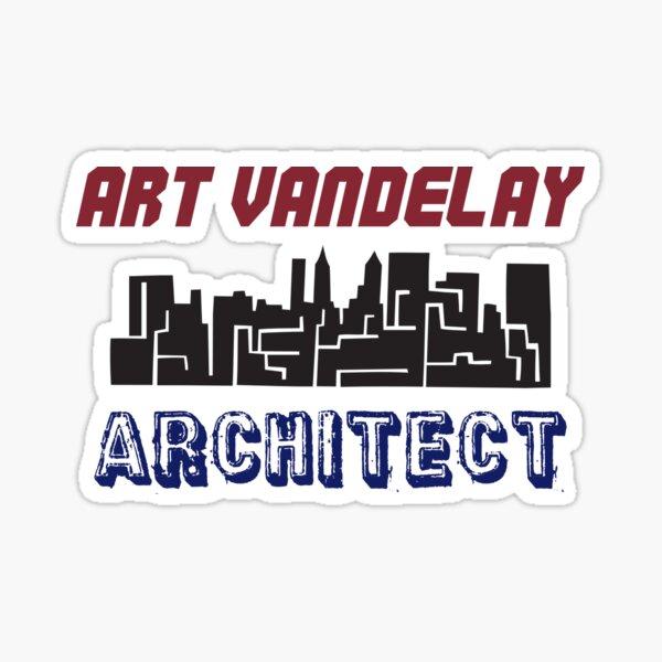 Art Vandelay Architect Sticker