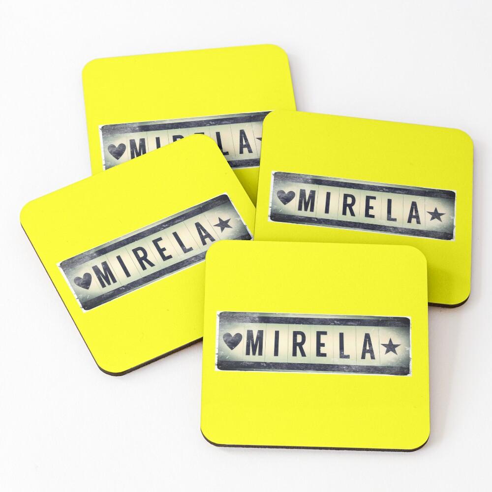 Mirela  Coasters (Set of 4)