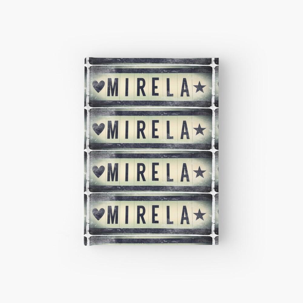 Mirela  Hardcover Journal