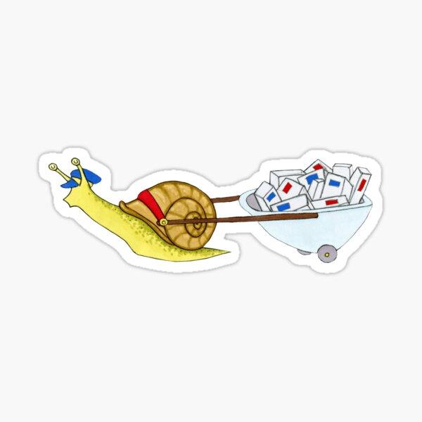 Snail Mail 3 Sticker