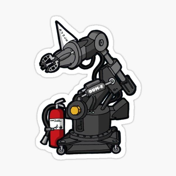 IM1 - DUM-E Robot Chibi Sticker