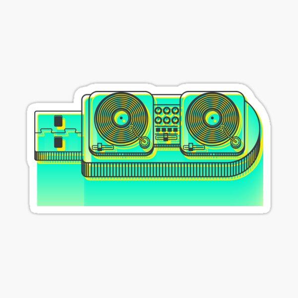 DJ in your pocket Sticker