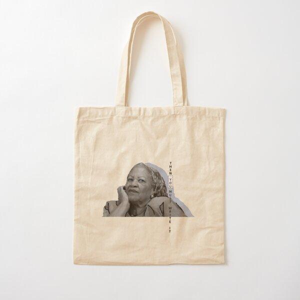 Toni Morrison Cotton Tote Bag
