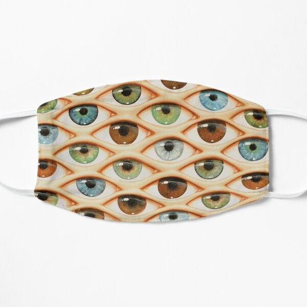 Maske mit Augen, passgenau Flache Maske