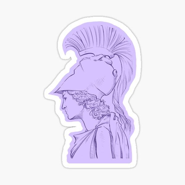 Athena (profile) Sticker