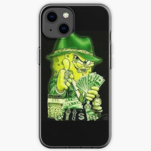 GANGSTER SPONGEBOB  iPhone Soft Case