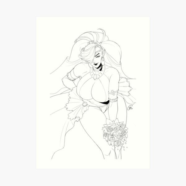 Lady Urbosa Art Print