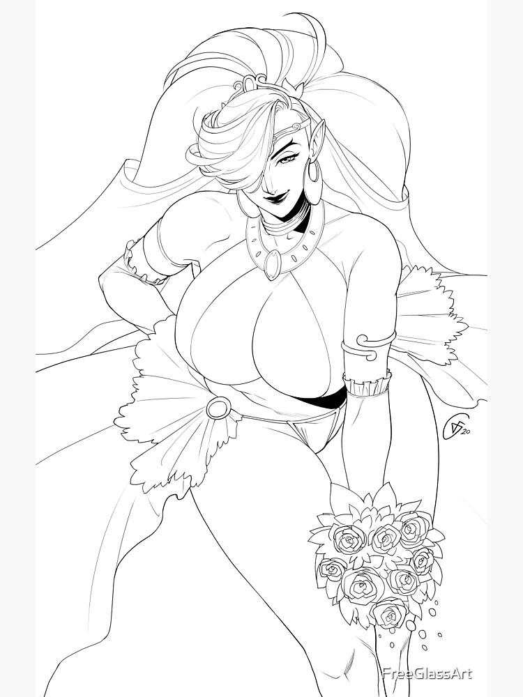 Lady Urbosa by FreeGlassArt
