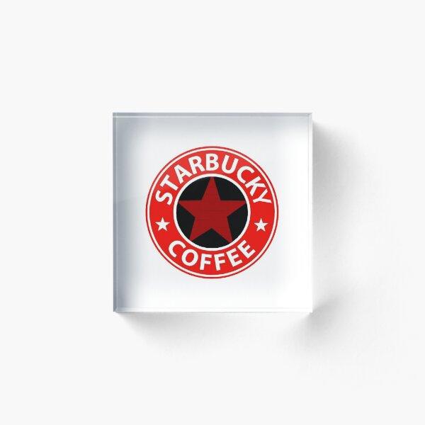 Bucky's Coffee  Acrylic Block