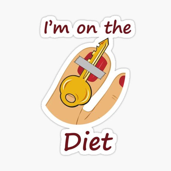 Keto (key toe) Diet Sticker