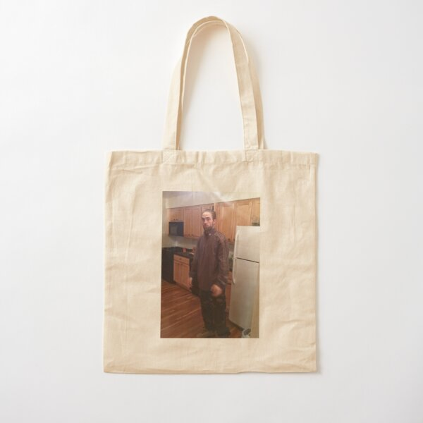 Robert Patinson Meme Cotton Tote Bag