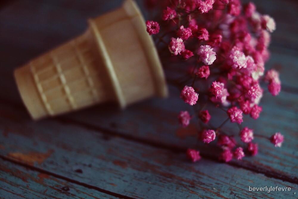 flower cone II by beverlylefevre