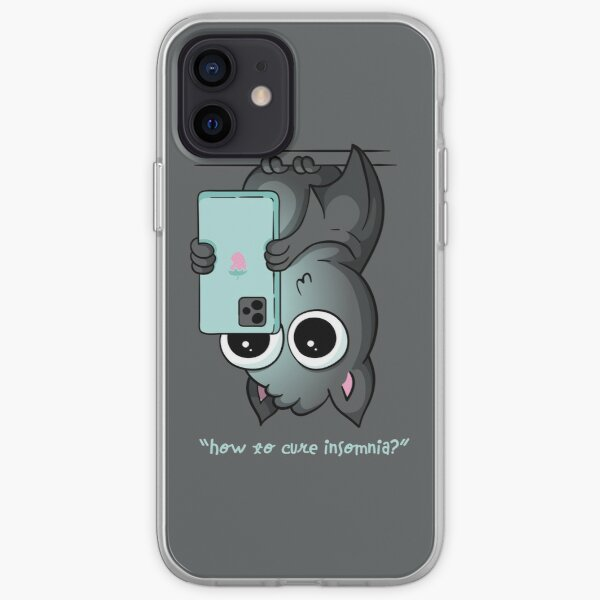 How to Cure Insomnia Bat iPhone Soft Case