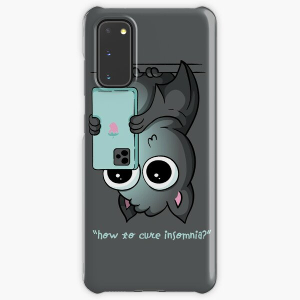 How to Cure Insomnia Bat Samsung Galaxy Snap Case