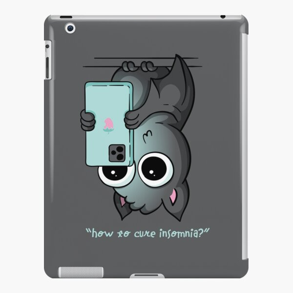 How to Cure Insomnia Bat iPad Snap Case