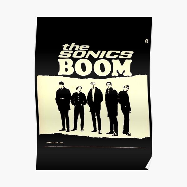 The Sonics Boom Gifts For Fans, For Men and Women, Gift Thanksgiving, Christmas Day Poster
