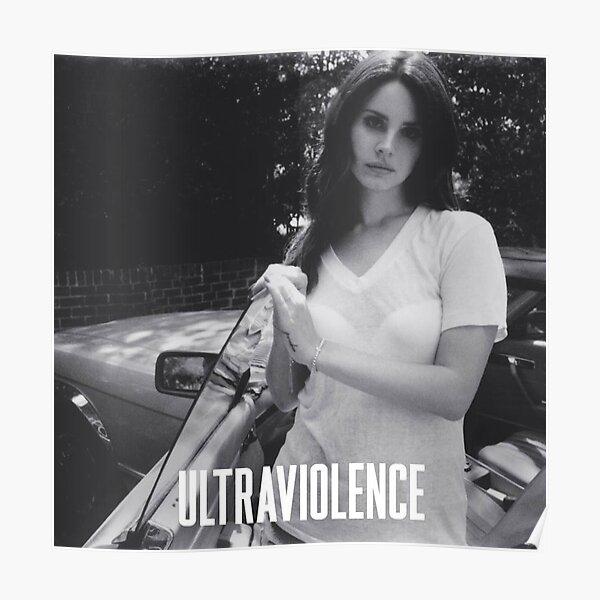 Lana Ultraviolence N&B Poster