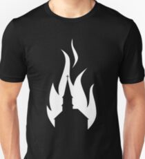 Church Burner - White Slim Fit T-Shirt