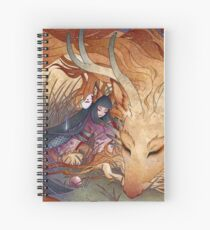 Slumber - Kitsune Fox Dragon Spiral Notebook