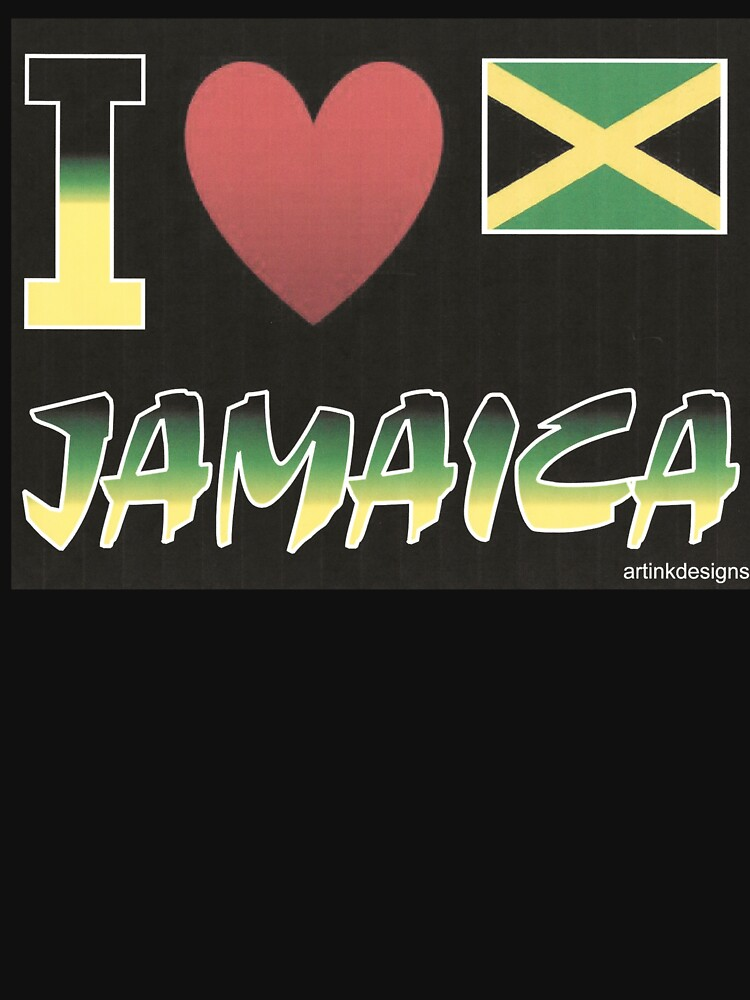 I Love Jamaica 2020 by artinkdesigns