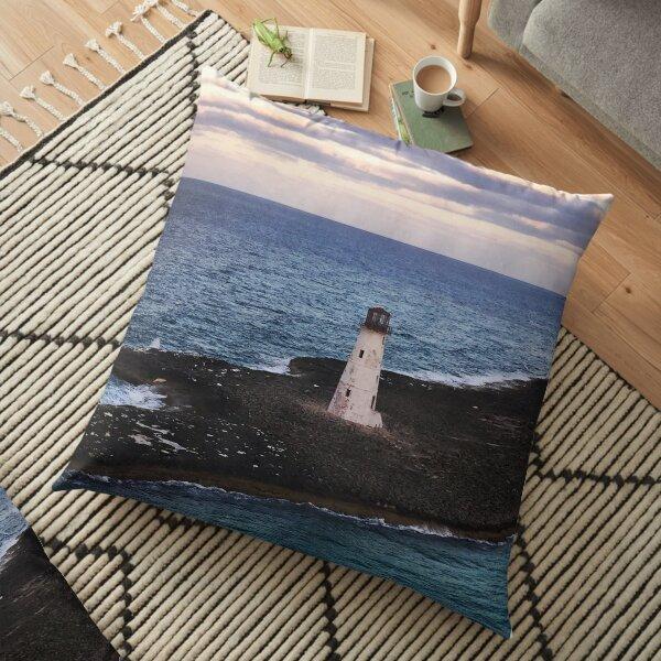Lighthouse Ocean Paradise Island Nassau Bahamas Original Photo Art Floor Pillow
