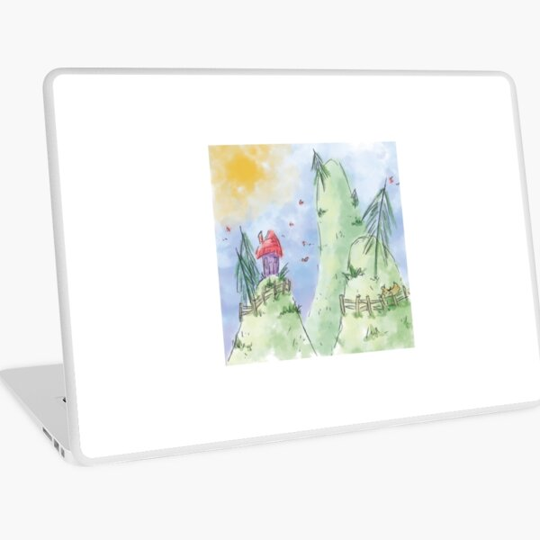 Quentin Style Hills Laptop Skin